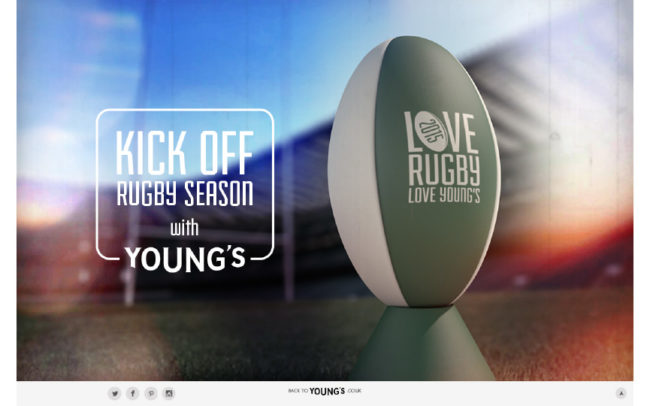 Young's Rugby Microsite